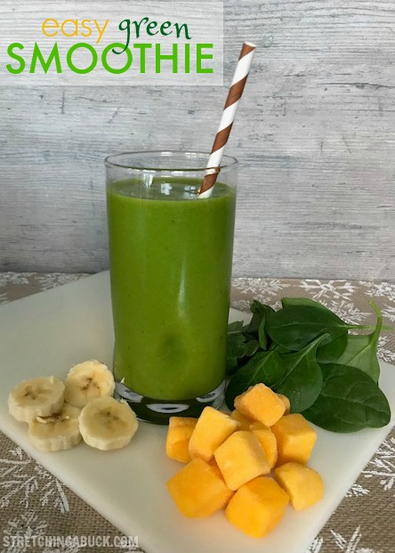 Easy Green Smoothie Recipe + My First Giant Eagle…