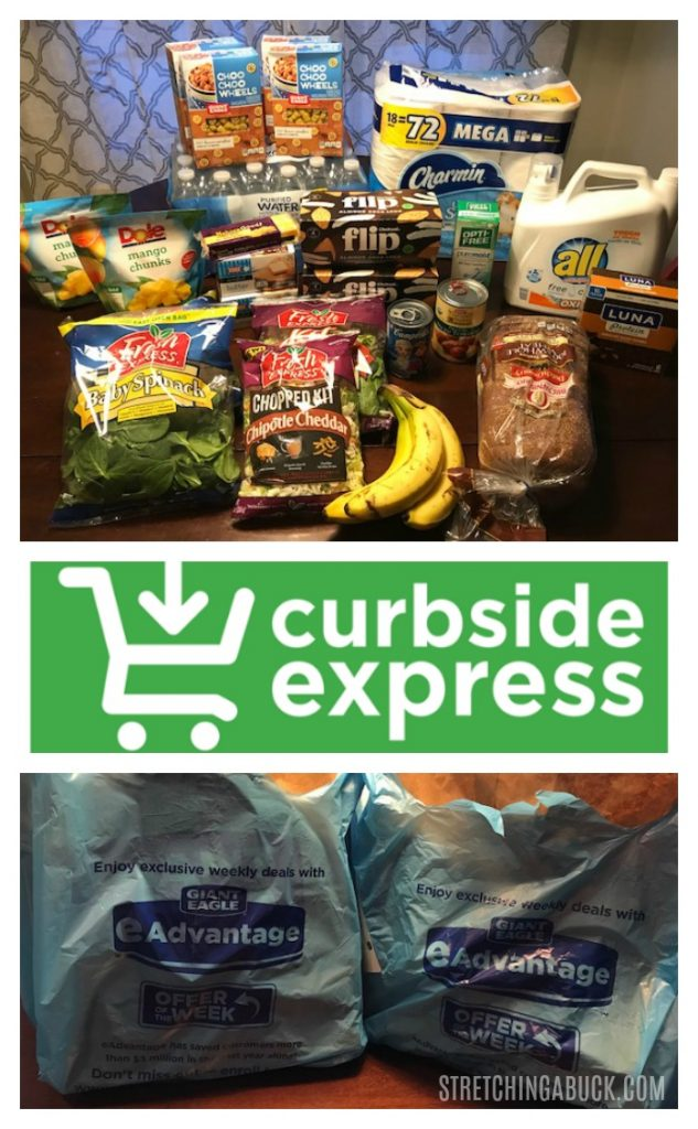 giant eagle curbside express delivery review