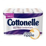 Thumbnail image for Cottonelle Ultra ComfortCare Family Roll Toilet Paper for $0.52 per Roll Shipped