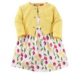 Thumbnail image for Luvable Friends Girls Easter Dress & Cardigan Set for $10.99