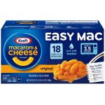 Thumbnail image for Kraft Easy Mac Macaroni & Cheese Microwaveable Packets for $0.48 Each Shipped