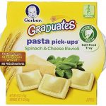 Thumbnail image for Gerber Graduates Spinach & Cheese Ravioli Pasta Pick-Ups for $0.93 Each Shipped