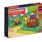 Thumbnail image for MagFormers Log Cabin 87 Piece Building Set for $61.34 Shipped
