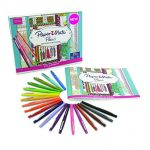 Thumbnail image for Prismacolor Paper Mate Flair Felt Tip Pen Set and Coloring Book for $7.18 Shipped