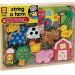 Thumbnail image for ALEX Toys Little Hands String A Farm Set for $9.23