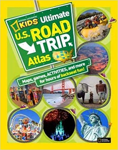 Thumbnail image for National Geographic Kids Ultimate US Road Trip Atlas Activity Book for $5.99