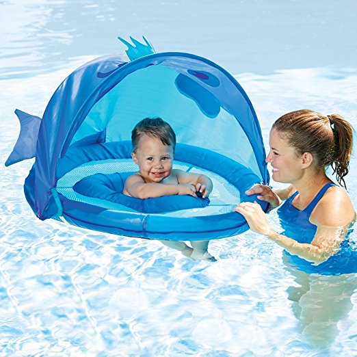 Thumbnail image for SwimSchool Fun Fish Baby Boat Float for $18.09