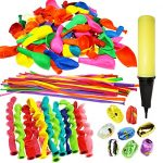 Thumbnail image for 180 Piece Party Balloons Set with Inflator and Ribbons for $13.95