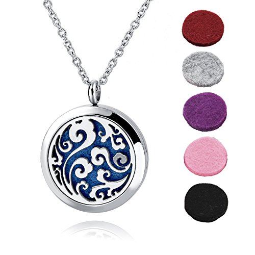Thumbnail image for Choker Essential Oil Diffuser Necklace Locket for $10.44