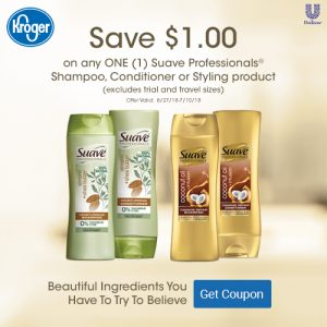 Kroger Suave Savings