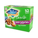 Thumbnail image for Blue Diamond Almonds 100 Calorie Pouches for $0.46 Each Shipped