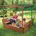 Thumbnail image for Covered Convertible Cedar Sandbox for $132.29 Shipped
