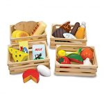 Thumbnail image for Melissa & Doug Wooden Food Groups Set with Crates for $13.27