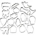 Thumbnail image for Wilton 18-Piece Halloween Cookie Cutter Set for $8.97