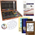 Thumbnail image for 102 Piece Deluxe Art Supply Set with Case for $23.96