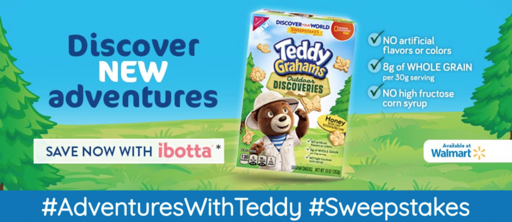 Teddy Graham Discoveries Sweeps | Enter to Win Wal…
