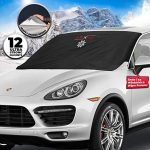 Thumbnail image for Ice & Snow Blocker Windshield Cover for Cars for $19.50