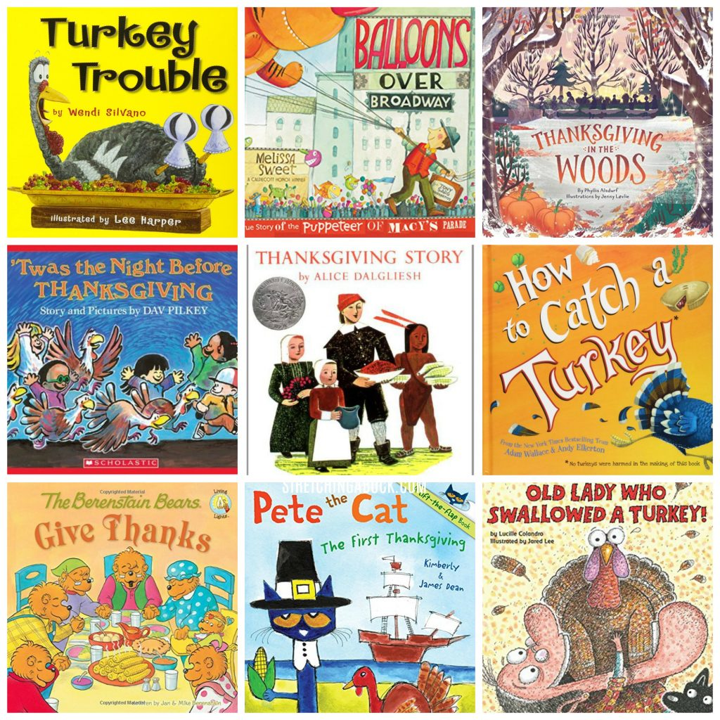 9 Great Thanksgiving Books for Kids