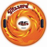 Thumbnail image for Flexible Flyer Blizzard Snow Tube Inflatable Sled for $12.71