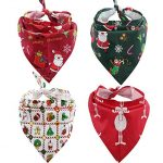 Thumbnail image for Pet Christmas Bandana 4-Piece Set for $11.99