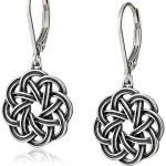 Thumbnail image for Sterling Silver Oxidized Celtic Knot Dangle Earrings for $13.30 Shipped