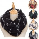 Thumbnail image for Winter Knit Infinity Plaid Scarf for $9.99