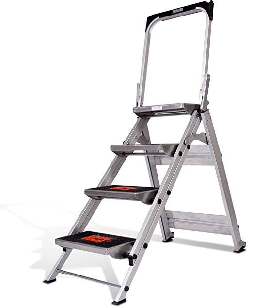 Little Giant Safety Step Ladder With Bar For 126 46