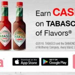 Thumbnail image for Ibotta Offer: Save $1 on TABASCO® Sauce at Walmart