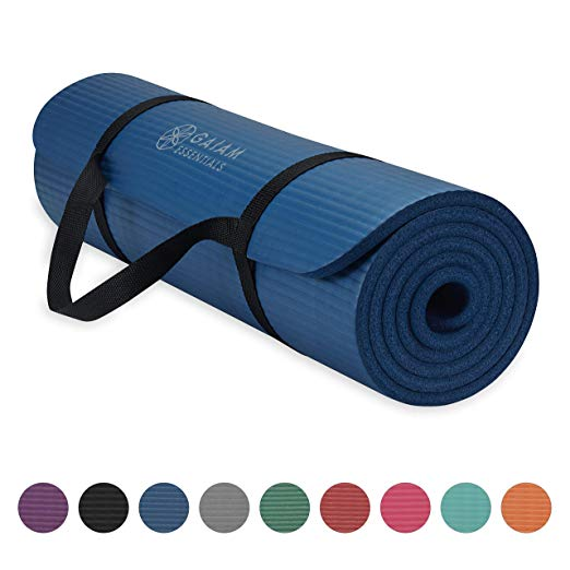 Gaiam Thick Yoga & Exercise Mat For $11.99 Shipped