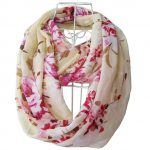 Thumbnail image for Multicolor Floral Print Infinity Scarf for $9.99