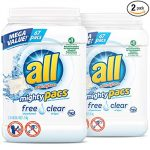 Thumbnail image for all Mighty Pacs Free & Clear Laundry Detergent for $0.11 per Pac Shipped