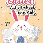 Thumbnail image for Easter Activity Book for Kids Ages 4-8 for $4.61