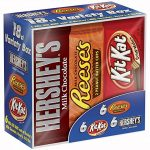 Thumbnail image for Hershey Candy Bar Variety Pack = Full Size Candy Bars for $0.56 Each Shipped
