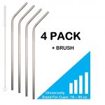 Thumbnail image for Stainless Steel Drinking Straws Set for $4.45