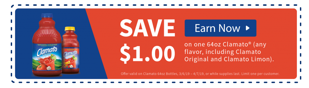 Save on Clamato Cocktail Sauce at Publix!