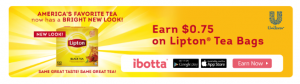 Lipton Ibotta Offer