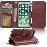 Thumbnail image for iPhone 7/8 Leather Wallet Case Phone Cover for $12.99