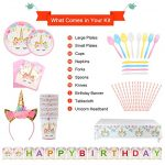 Thumbnail image for Unicorn Birthday Party Kit for 16 for $15.99