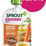Thumbnail image for Sprout Organic Homestyle Vegetables & Pear Pouches for $0.83 Each Shipped