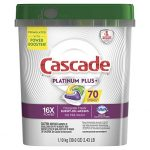 Thumbnail image for Cascade Platinum Plus Dishwasher Actionpacs for $0.18 Each Shipped