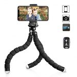 Thumbnail image for Premium Phone Flexible Tripod with Remote Shutter for $17.09