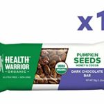 Thumbnail image for Health Warrior Dark Chocolate Pumpkin Seed Protein Bars for $0.85 Each Shipped