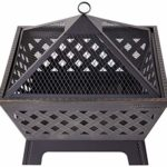 Thumbnail image for Antique Bronze 26″ Fire Pit with Cover for $92.09 Shipped