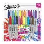 Thumbnail image for Sharpie Color Burst Permanent Markers for $0.49 Each