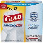 Thumbnail image for Glad Tall Kitchen ForceFlexPlus 13 Gallon Trash Bags for $0.10 Each Shipped