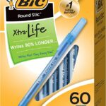 Thumbnail image for BIC Round Stic Xtra Life Ballpoint Pens for $0.08 Each