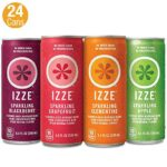 Thumbnail image for IZZE Sparkling Juice Variety Pack for $0.35 per Can Shipped