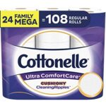 Thumbnail image for Cottonelle Ultra ComfortCare Toilet Paper for $0.78 per Family Mega Roll Shipped