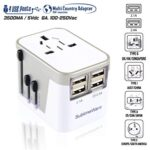 Thumbnail image for International Power Plug Adapter with USB for $13.99