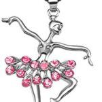 Thumbnail image for Little Girl's Pink Ballerina Dance Pendant Necklace for $8.99